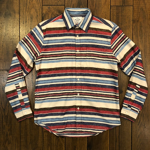 Montauk striped flannel shirt