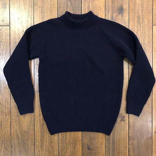 Prata navy wool jumper