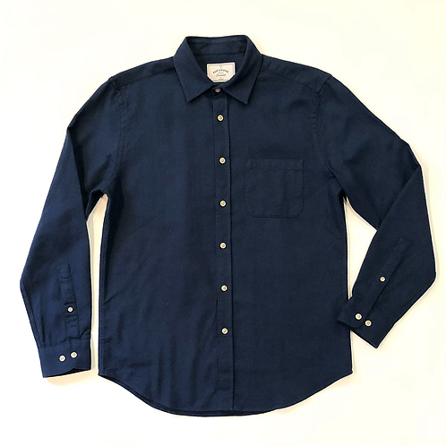 Camisa Teca Flannel French Blue