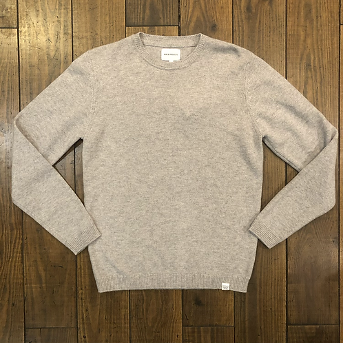 Sigfred Lambswool Grey Sweater