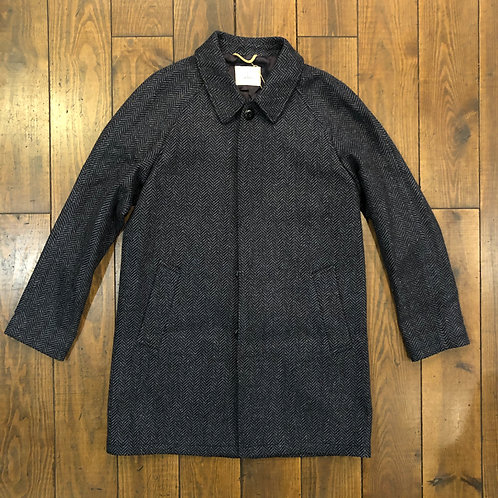 Couto Herringbone wool overcoat