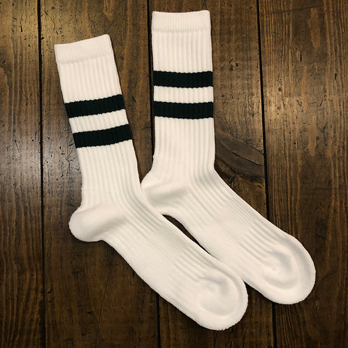 Bjarki cotton sport green socks