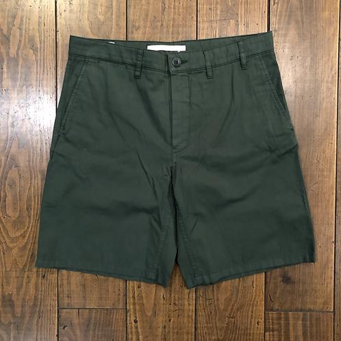Aros light twill Dartmouth Green shorts