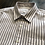Thumbnail: Pop-Over Oxford Navy stripes Shirt