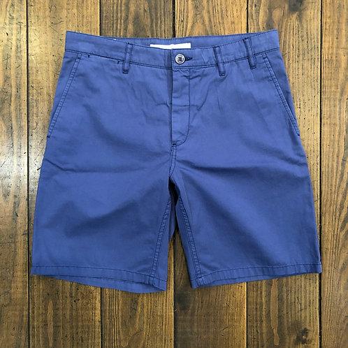 Aros light twill blue shorts