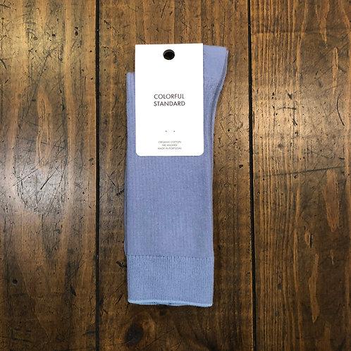 Organic cotton steel blue  socks