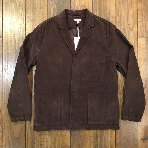 Two button sack corduroy jacket