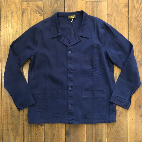 Cotton twill navy worker