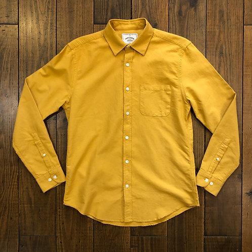 Belavista mustard oxford shirt