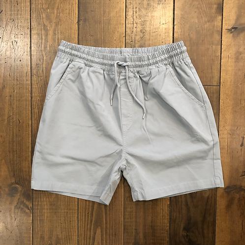 Organic Cotton Shorts Steel Blue