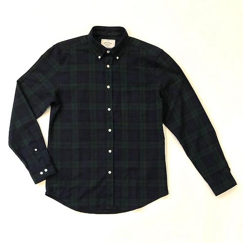 Camisa Bonfim Cuadros Verdes