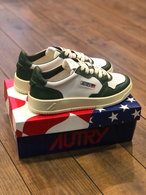 Autry Medalist Bicolor Green/White