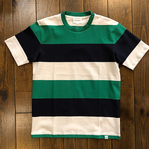 Johannes border green  stripe