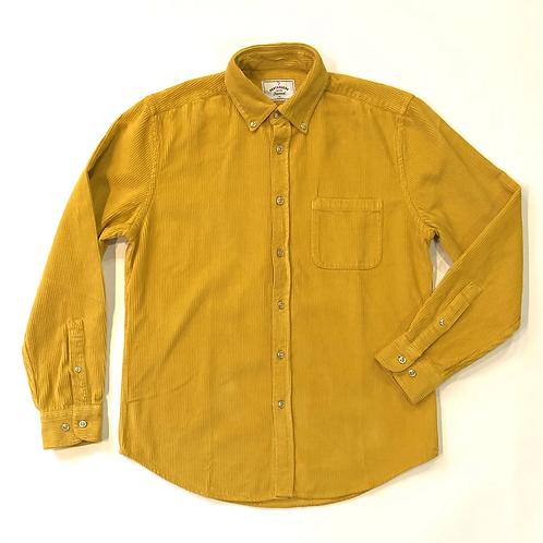 Camisa Lobo Corduroy Mustard