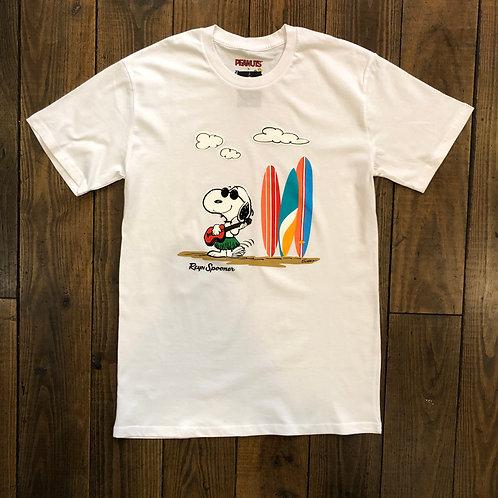 Ukulele Snoopy white tee