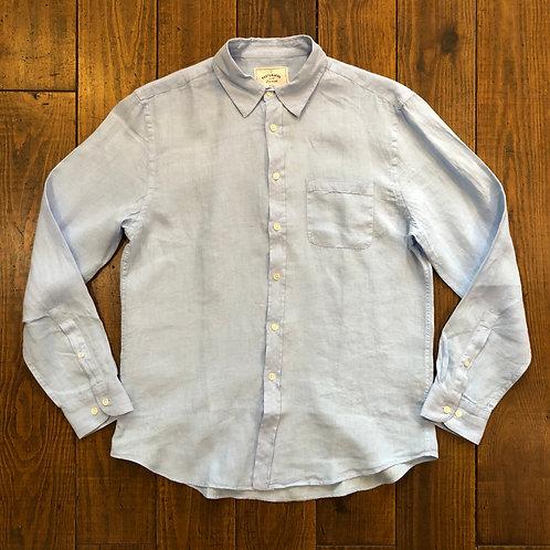 Linen sky shirt