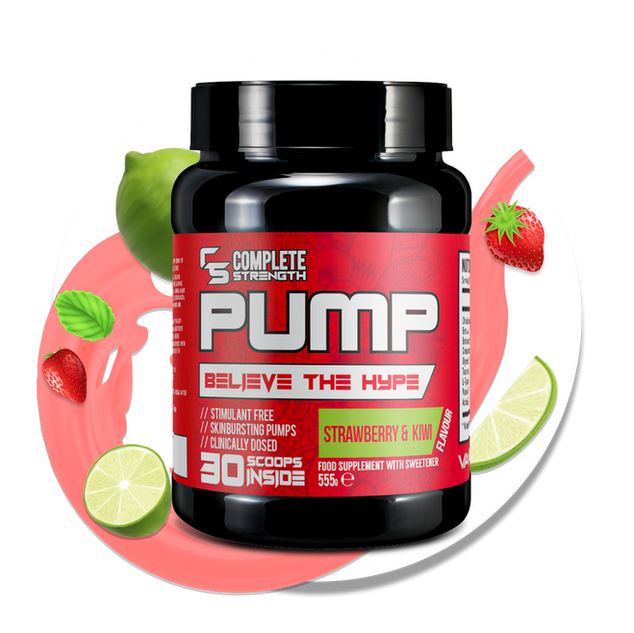 PUMP - Strawberry & Kiwi