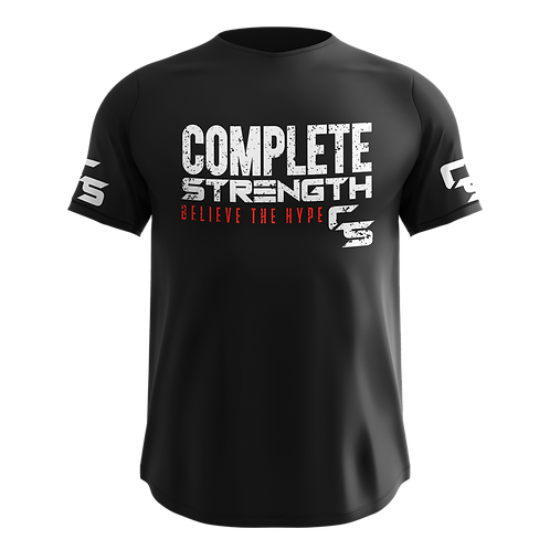 Complete Strength Black T-Shirt