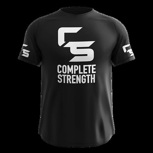 Complete Strength Black Logo T-Shirt