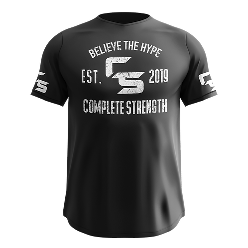 Complete Strength Black Logo T-Shirt