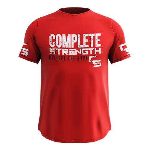 Complete Strength Red T-Shirt