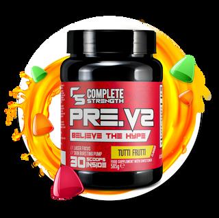 Tutti Frutti - PreV2 -Workout Powder