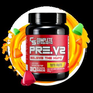 Tuffi Frutti - PreV2-Workout Powder