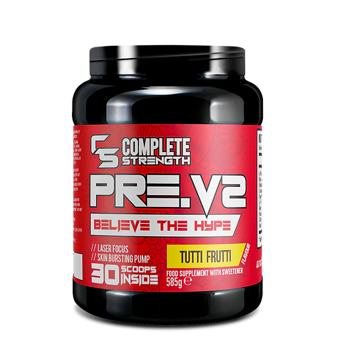 Complete Strength Preworkout - PreV2 - Tutti Frutti