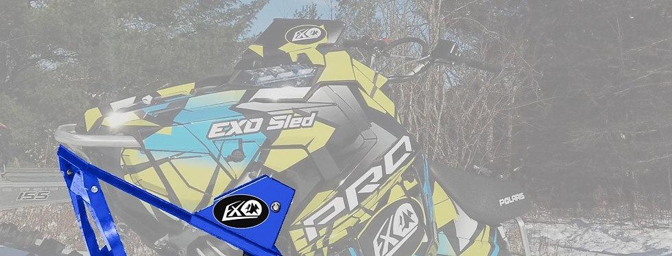 EXO Sled Snowbike Conversion Kit | Blue
