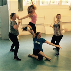 Jumping for joy at SJ Dance