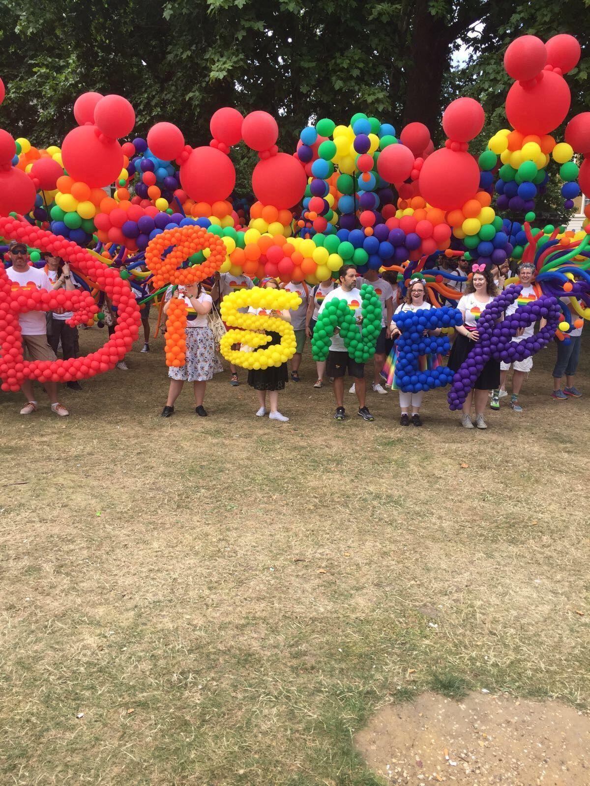 Disney's Pride Balloons