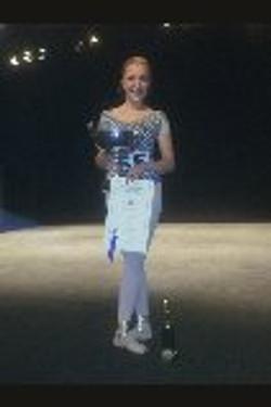 Sammy winning the AAD Scholarships