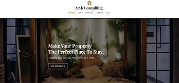 aryk consulting website thumbnail
