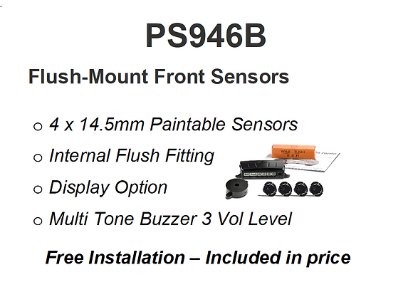 PS946B   Flush Mount Front Installed