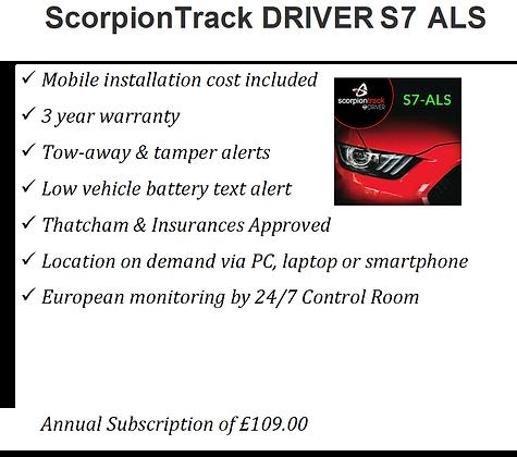 ScorpionTrack S7-ALS