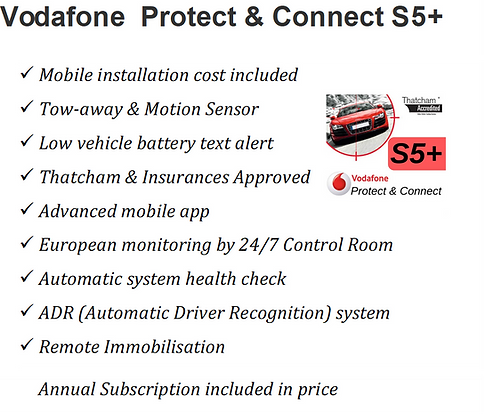 Vodafone S5+ with immobilisation