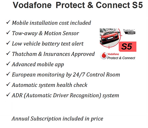 Vodafone Protect & Connect S5