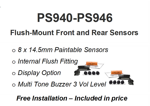 PS940-PS946 OEM F&R Installed