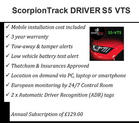 Scorpion Track S5 VTS