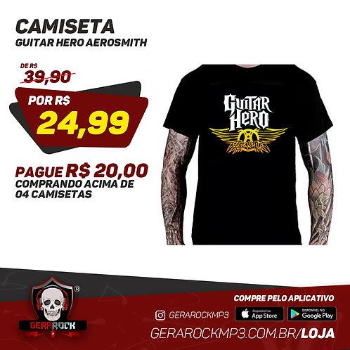 Camiseta Guitar Hero Aerosmith