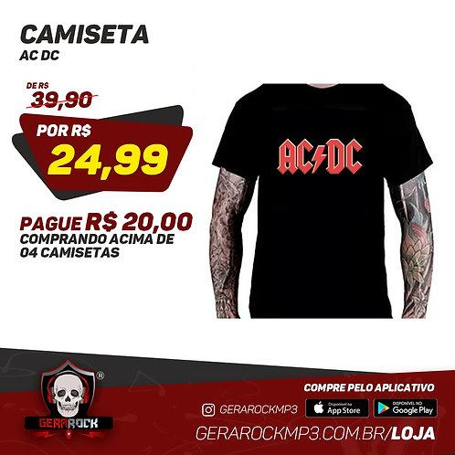 Camiseta AC/DC