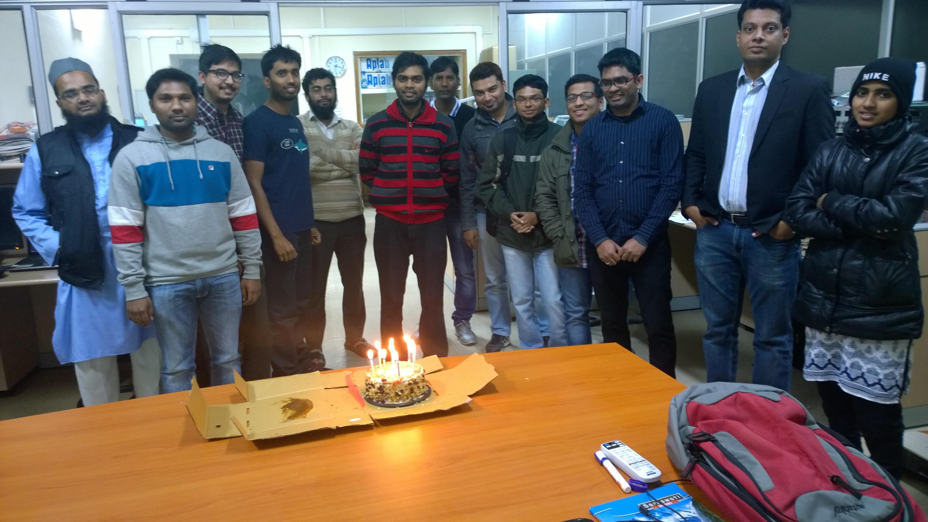 Birthday Celebrations.