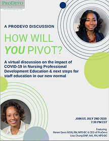 A ProDevo Discussion Webinar flyer pic.j