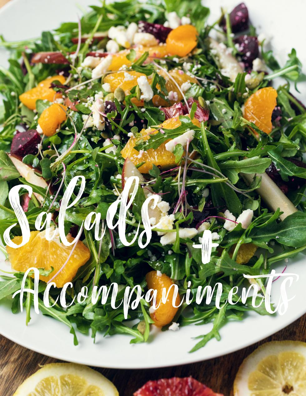 Salads + Accompaniments Cover