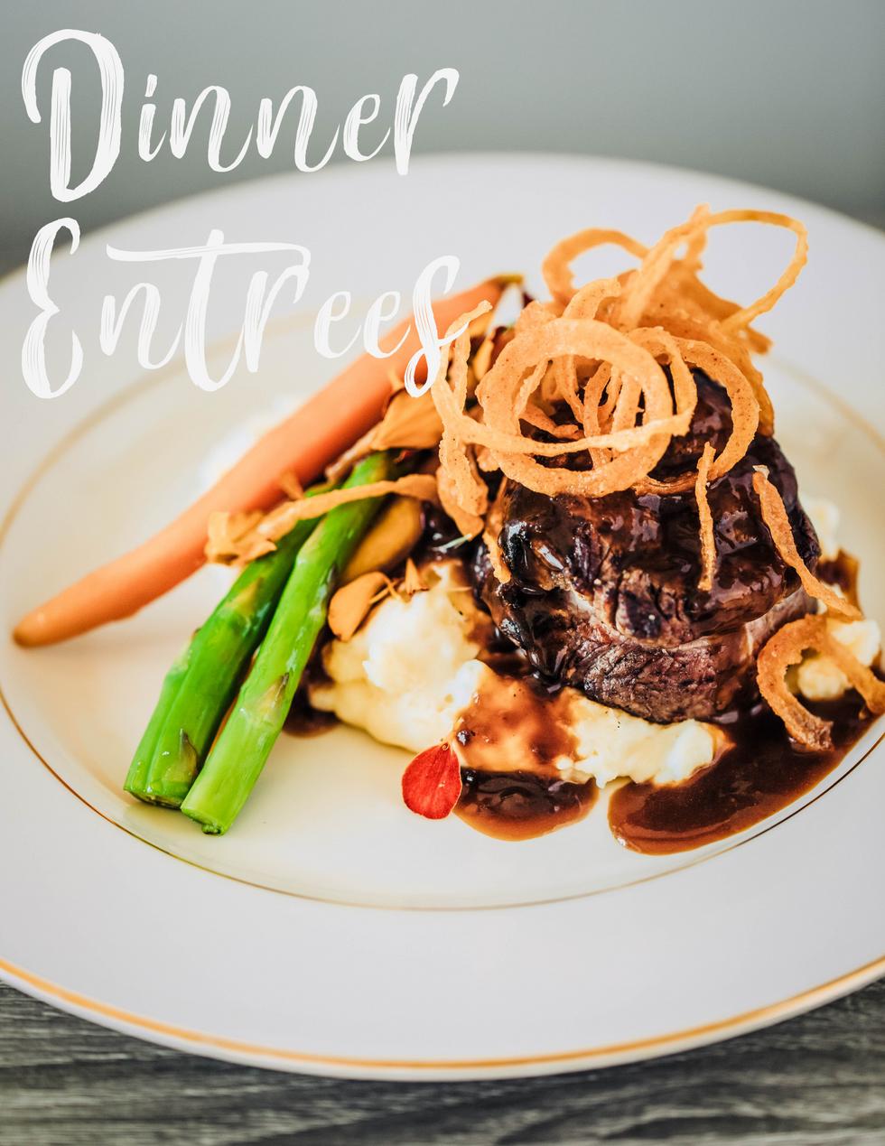 Dinner Entree Cover