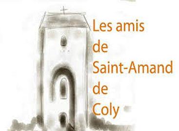 Logo Les Amis de Saint-Amand de Coly