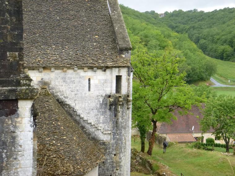 Une bretèche du transept nord