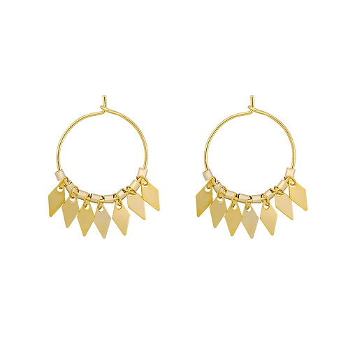 Earrings Dancing Diamonds