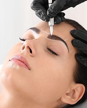 permanente makeup hairstrokes ombre micr