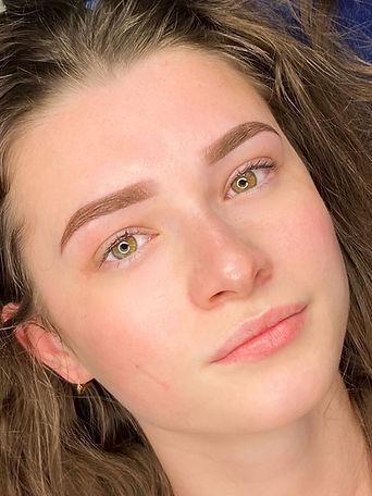 bellezza by zonna de pijper permanente makeup wenkbrauwen powder brows ombre brows hairstr